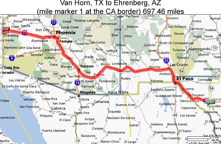 Map Of Arizona California Border.Kimmy Adventures Day 6 It Must Be Arizona